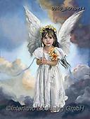 CHILDREN, KINDER, NIÑOS, paintings+++++,USLGSKPROV14,#K#, EVERYDAY ,Sandra Kock, victorian ,angels