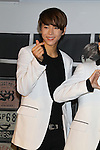 Na Do-Kyun (HISTORY), Aug 26, 2015 : South Korean pop group HISTORY attends the promotional event in Tokyo, Japan on August 26, 2015. (Photo by AFLO)