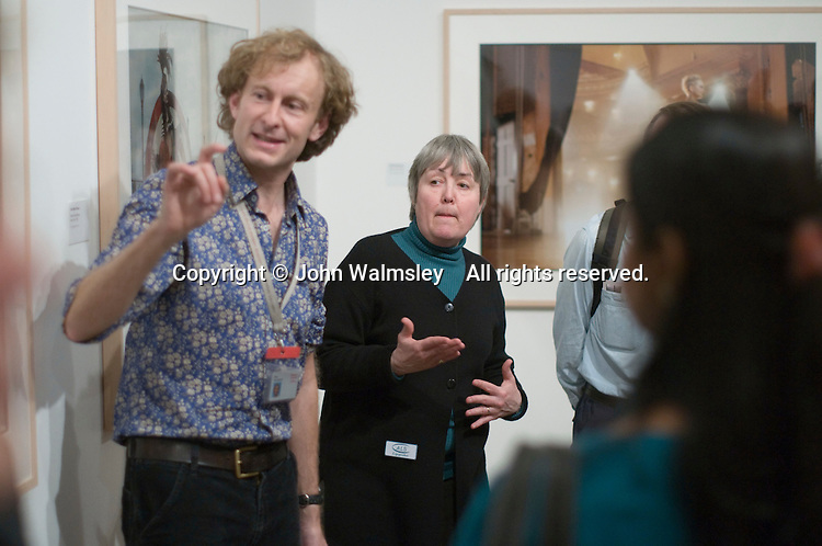 National Portrait Gallery, London.  Tour of the Annie Leibovitz exhibition with Tour Guide, Mark Woodhead, British Sign Language signer, Rob Skinner and Lip Interpreter, Sarah Scanlon for any hearing impaired visitors..