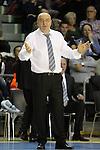 Dusko Vujosevic. FC Barcelona Regal vs Partizan: 85-82 - Euroleague 2012/13 - Regular season game: 4