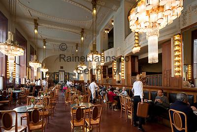 Tschechien, Boehmen, Prag: Jugendstil-Cafe Imperial, von 1914 | Czech Republic, Bohemia, Prague: Interior of the Art Nouveau style Cafe Imperial, opened in 1914