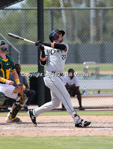 Sam Abbott - 2019 AIL White Sox (Bill Mitchell)