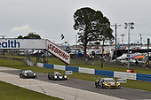 #57 Heinricher Racing w/Meyer Shank Racing Acura NSX GT3, GTD: Katherine Legge, Ana Beatriz, Christina Nielsen, #38 Performance Tech Motorsports ORECA LMP2, LMP2: Kyle Masson, Cameron Cassels