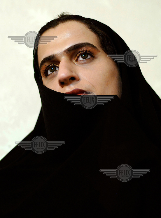 A portrait of 'Mahtab', an Iranian transsexual. Mahtab feels trapped in her own (male) body and is hoping to have a gender operation in the near future. Mahtab has a boyfriend and is planning to get married as soon as her operation is completed.