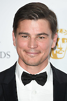 Josh Hartnett<br /> in the winners room at the 2016 BAFTA TV Awards, Royal Festival Hall, London<br /> <br /> <br /> ©Ash Knotek  D3115 8/05/2016