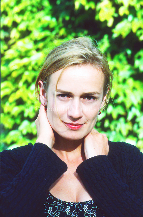 Sandrine Bonnaire, è un'attrice e regista francese. Lido, 5 settembre 1998. Photo by Leonardo Cendamo/Getty Images