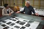 Dewi Lewis Publishing printing My British Archive, The Way We Were  1968-1983, at EBS Verona. Jonathan Bortolazzi 2016 2010s