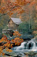 Glade Creek Grist Mill<br /> Babcock State Park<br /> West Virginia