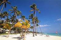Dominikanische Republik, Strand im Punta Cana Beach Resort und Club