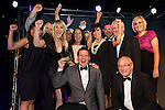 Pix: Shaun Flannery/shaunflanneryphotography.com...COPYRIGHT PICTURE>>SHAUN FLANNERY>01302-570814>>07778315553>>..13th December 2012..Doncaster Chamber Business Awards 2012...Business of the Year Award, More than £3 million turnover..One Call Insurance Ltd.