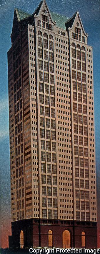 Philip Johnson & John Burgee Architects: 190 La Salle, Chicago 1986.