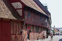 Altstadthäuser in Ystad, Provinz Skåne (Schonen), Schweden, Europa<br /> Historic city Stortorget  in Ystad, Sweden