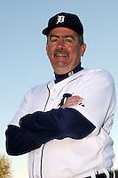 Feb 21, 2009; Lakeland, FL, USA; The Detroit Tigers coach Jeff Jones (51) during photoday at Tigertown. Mandatory Credit: Tomasso De Rosa/ Four Seam Images