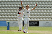 Dillon Pennington of Worcestershire appeals for the wicket of Daniel Lawrence during Worcestershire CCC vs Essex CCC, LV Insurance County Championship Group 1 Cricket at New Road on 30th April 2021