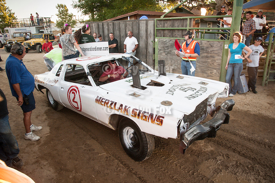 74th Amador County Fair, Plymouth, Calif...Destruction Derby best looking car