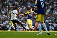 Sun 25 August 2013<br /> <br /> Pictured: Pablo Hernandez of Swansea takes on Mousa Dembele of Tottenham Hotspur<br /> <br /> Re: Barclays Premier League Tottenham Hotspur FC  v Swansea City FC  at White Heart Lane, Tottenham, London