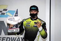 #12: AIM Vasser Sullivan Lexus RC-F GT3, GTD: Townsend Bell, podium