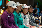 Players attends the Press conference ahead of the Hyundai China Ladies Open 2014 on December 10 2014, in Shenzhen, China. Photo by Li Man Yuen / Power Sport Images