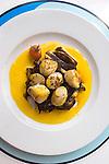 Scallops Entree, Tokyo Eat, Paris, France, Europe