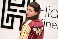 "Lily Aspell<br /> arriving for the""Wonder Woman 1984"" Hideaway Cinema premiere, London.<br /> <br /> ©Ash Knotek  D3564 20/05/2021"