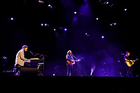 LONDON, ENGLAND - SEPTEMBER 13: Johnny McDaid, Gary Lightbody and Nathan Connolly of 'Snow Patrol' performing at The Palladium on September 13, 2021 in London, England.<br /> CAP/MAR<br /> ©MAR/Capital Pictures
