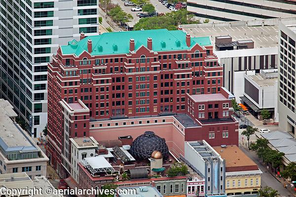 aerial photograph of Sundance West, 333 Throckmorton Street, Fort Worth, Texas