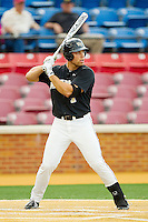 Mac Williamson #7 of the Wake Forest Demon Deacons at bat against the Florida State Seminoles at Wake Forest Baseball Park on March 23, 2012 in Winston-Salem, North Carolina.  The game was suspended in the bottom of the 7th inning with the score tied at 4..(Brian Westerholt/Four Seam Images)