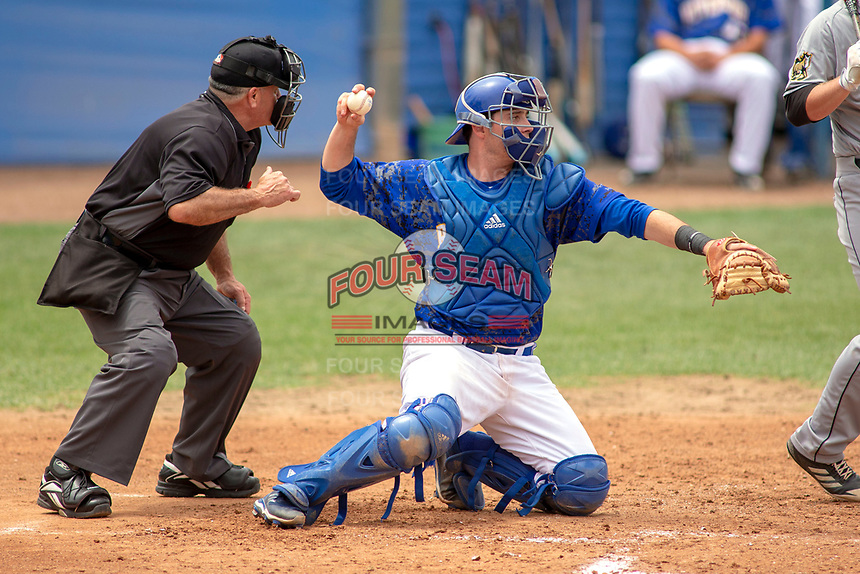 UC-Riverside Highlanders Branden Williams (13) in action against the Cal Poly San Luis Obispo Mustangs at Riverside Sports Complex on May 26, 2018 in Riverside, California. The Cal Poly SLO Mustangs defeated the UC Riverside Highlanders 6-5. (Donn Parris/Four Seam Images)