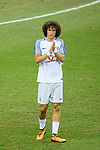 Chelsea Defender David Luiz during the International Champions Cup 2017 match between FC Internazionale and Chelsea FC on July 29, 2017 in Singapore. Photo by Weixiang Lim / Power Sport Images