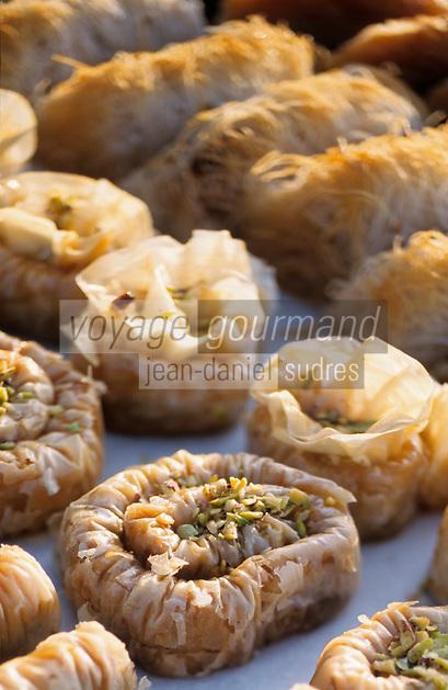 Europe/Chypre/Env de Polis : Baklava desserts chypriotes de l'Anassa Hôtel