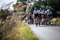Team Dimension Data in front of the peloton,<br /> <br /> 104th Kampioenschap van Vlaanderen 2019<br /> One Day Race: Koolskamp > Koolskamp 186km (UCI 1.1)<br /> ©kramon