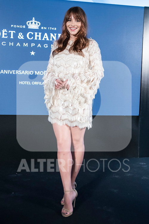 Andrea Duro In MOËT & CHANDON presents the global celebration project of the 150th anniversary of Moet in the hands of its protagonists<br /> November 13, 2019. <br /> (ALTERPHOTOS/David Jar)