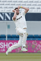 Jamie Overton, Surrey CCC during Surrey CCC vs Hampshire CCC, LV Insurance County Championship Group 2 Cricket at the Kia Oval on 1st May 2021