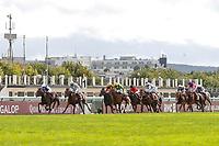 4th October 2020, Longchamp Racecourse, Paris, France; Qatar Prix de l Arc de Triomphe;  Tiger Tanaka ridden by Jessica Marcialis