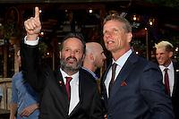 Austria, Kitzbuhel, Juli 15, 2015, Tennis, Davis Cup, Dutch team, Official dinner, <br /> Photo: Tennisimages/Henk Koster