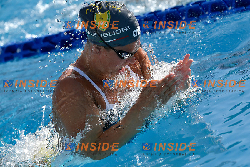 Arianna Castiglioni of Italy warms up during the 58th Sette Colli Trophy International Swimming Championships at Foro Italico in Rome, June 25th, 2021. <br /> Photo Andrea Staccioli/Insidefoto/Deepbluemedia