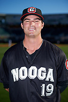 Chattanooga Lookouts Mason Melotakis (19) poses for a photo before a game against the Jackson Generals on April 27, 2017 at The Ballpark at Jackson in Jackson, Tennessee.  Chattanooga defeated Jackson 5-4.  (Mike Janes/Four Seam Images)