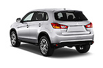 Car pictures of rear three quarter view of 2017 Mitsubishi Outlander-Sport ES-AWC 5 Door SUV Angular Rear