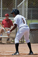 Delino DeShields, Jr. of the Gulf Coast League Astros during the game at Osceola County Stadium in Kissimmee, Florida August 11 2010. DeShields was the Houston Astros 1st round pick (8th overall) of the 2010 MLB Draft. Photo By Scott Jontes/Four Seam Images