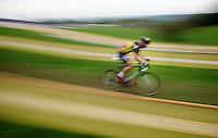 Sven Nys (BEL/Crelan-AAdrinks) speeding<br /> <br /> GP Mario De Clercq 2014<br /> Hotond Cross<br /> CX BPost Bank Trofee - Ronse