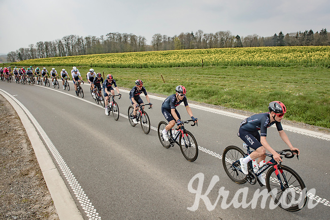 Tom Pidcock (GBR/Ineos Grenadiers)<br /> <br /> 85th La Flèche Wallonne 2021 (1.UWT)<br /> 1 day race from Charleroi to the Mur de Huy (BEL): 194km<br /> <br /> ©kramon
