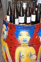 Cuvee Quadratur, Schistes, Quintessence. Domaine Coume del Mas. Banyuls-sur-Mer. Roussillon. Tasting wine. France. Europe.
