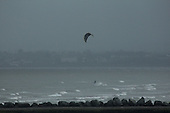 Wind Surfer in Storm