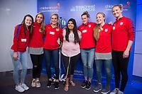 Dallas, TX - April 3, 2017: The USWNT visited patients at Seacrest Studios inside Children's Medical Center.