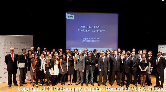 AISTS MSA 2011 Graduation, Lausanne Switzerland