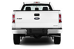 Straight rear view of a 2013 Ford F150 XL Reg Cab