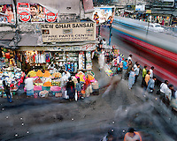 People move around Chandni Chowk road.. CHECK with MRM/FNA