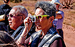 Japanese tourists, Ghost Ranch, Abiquiu, New Mexico.