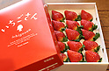 "New strawberry brand ""Ichigosan"""