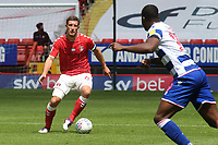 Jason Pearce of Charlton Athletic in action during Charlton Athletic vs Reading, Sky Bet EFL Championship Football at The Valley on 11th July 2020